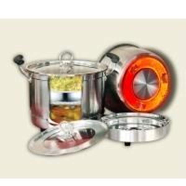 Homzace Cook N Serve Uk 28 Cm - Panci Serbaguna - Memasak Tanpa Api