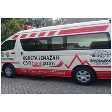 Modif Mobil Ambulance HIACE  MODEL  AMBULANCE  JENAZAH