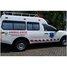 Modif Mobil  Ambulance TRITON  Model  Ambulance  International