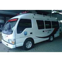 Modifikasi Ambulance Isuzu ELF  Bank Jatim Probolinggo