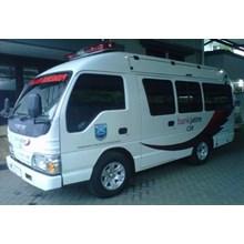 Modifikasi Ambulance Isuzu ELF  Bank Jatim Proboli