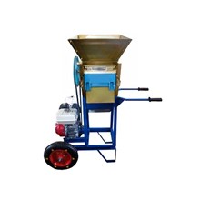 Mesin Pengupas Kulit Kopi Basah Portable dengan Roda