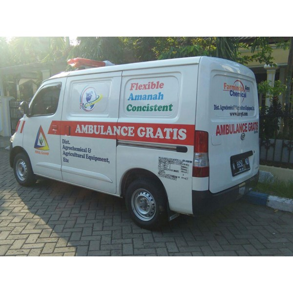 Modifikasi Mobil Ambulance Farmindo Chemichal