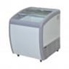Chest Freezer Sliding Curve Glass Freezer Type: SD-160BY
