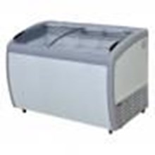 Chest Freezer Sliding Curve Glass Freezer Type: SD-360BY