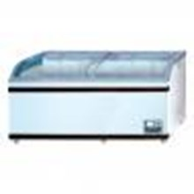 Chest Freezer Sliding Curve Glass Freezer Type: SD-700BY
