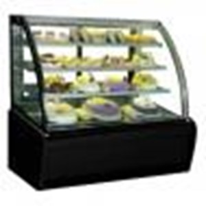 Dari Kulkas Showcase Curved Glass Cake Showcase Type: S-950A 0