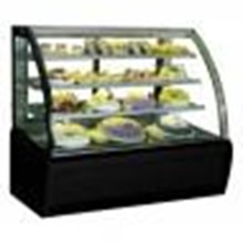 Kulkas Showcase Curved Glass Cake Showcase Type: S-960A
