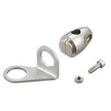 Adjustable bracket for threaded mount type