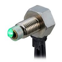 Threaded and Hex Shaped Active Receiver Fibers Reflective FU R67TZ