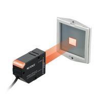 Sensor head Retro reflective Long distance transparent object LV S63  1