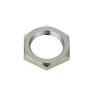 M18 Nut Brass Nickel Plated OP 3052