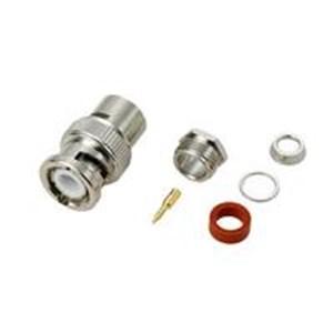BNC connector plug for 3D 2V OP 026 OP 0026