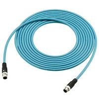 Ethernet cable M12 4pin M12 4pin 5m OP 88090  1