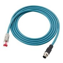 Ethernet cable M12 4pin RJ45 5m OP 88087