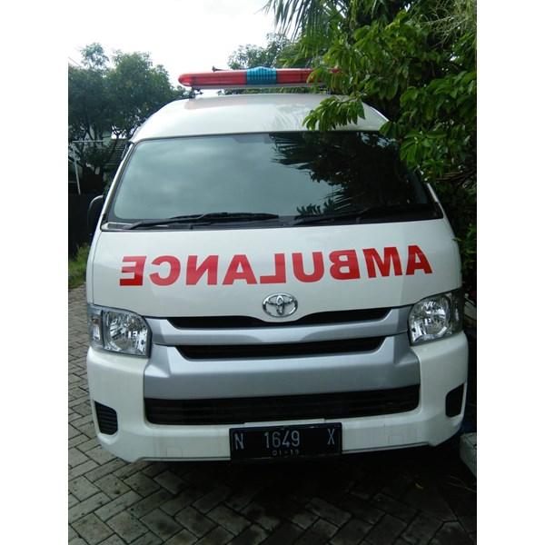 Karoseri ambulance RS Masyithoh Bangil