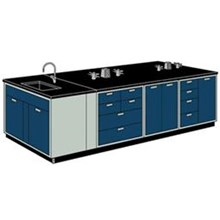 Meja Lab with Sink
