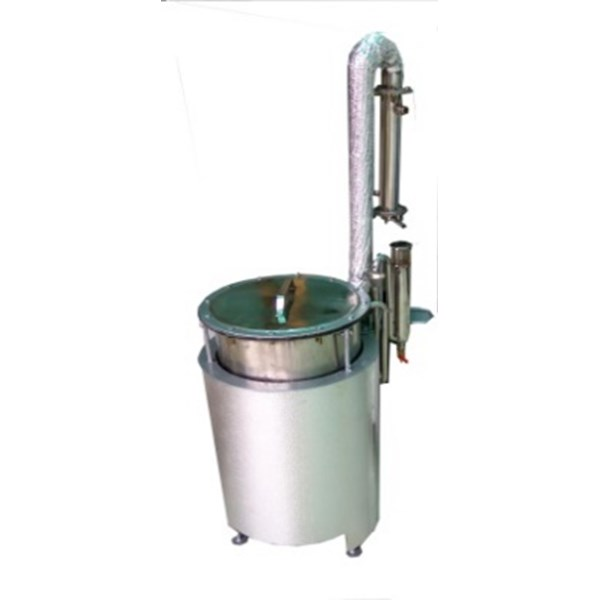 Alat Destilasi / Penyulingan Minyak Atsiri Kap. 10kg