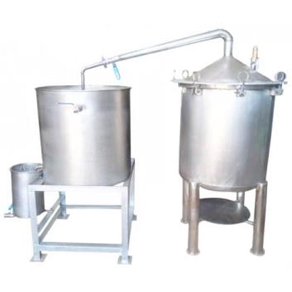 Alat Destilasi / Penyulingan Minyak Atsiri  Kap.  50-100 kg