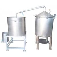 Alat Destilasi / Penyulingan Minyak Atsiri Kap. 100-150 kg bahan baku