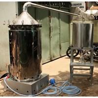 Alat Destilasi / Penyulingan Minyak Atsiri Kap 150-200 kg