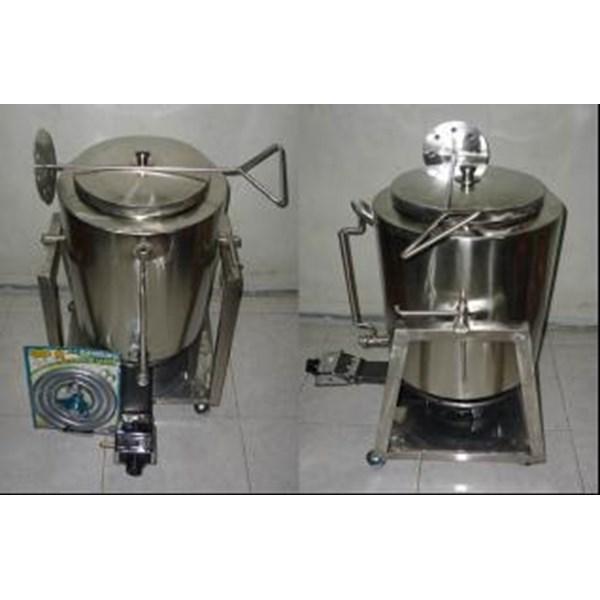 Pasteurisasi Kap : 12.5 liter / proses