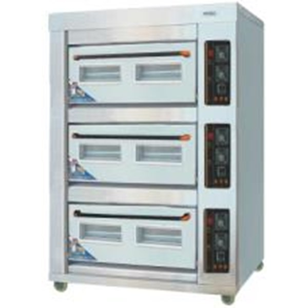 Dual Gas Electric Baking Oven03