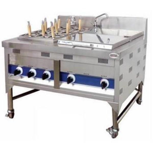 Gas Noodle Cooker + Soup Tank