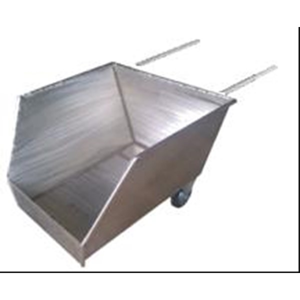 Cradle Stainless Steel Trolley Limbah Potongan Ikan dll