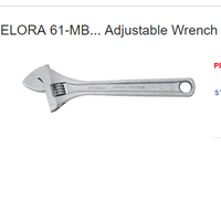 Elora 61-MB Adjustable Wrench 1