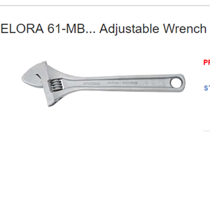 Elora 61-MB Adjustable Wrench
