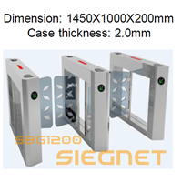 Jual Speed Gate Barrier Access Control And Entrance Management 2