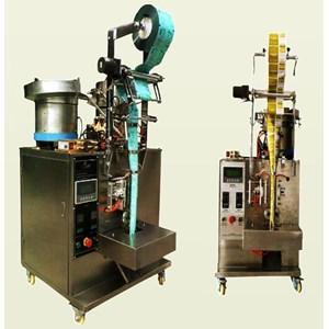Mesin Pembuat Kemasan Otomatis Vertical Dengan Penghitung Sistem Produk Permen & Obat