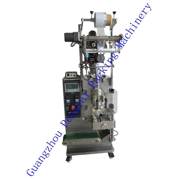 Mesin Pembuat Kemasan Otomatis Produk Bubuk Model : PL-S-50F