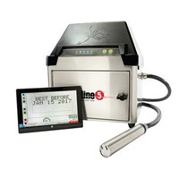 Mesin Pengkodean Continuous Inkjet Printer SQUID INK STREAMLINE 5