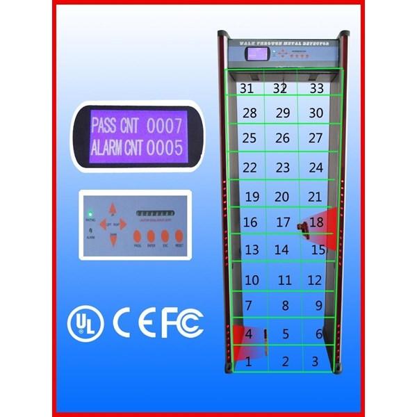 Detektor Logam Untuk Sistem Keamanan Model JS-F330