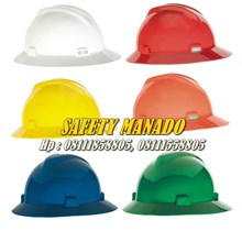 Helm Safety MSA Full Brim