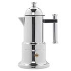 Pembuat Kopi Moka Pot 4 Cups Vev Vigano Stainless