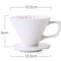 Jual Pembuat Kopi Dripper V60-02 Ceramic