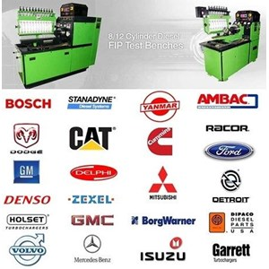 Diesel Test Bench FIP Mesin Kalibrasi Injection Pump Test BOSCH Pump