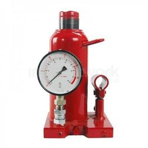Dongkrak Hidrolik dg Pengukur Tekanan Hydraulic Jack With Pressure Gauge
