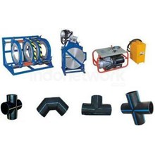 Mesin Las HDPE Plastic Pipe Butt Fushion Welding Machine