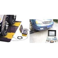 Timbangan Mobil Digital Portable Vehicle Axle Weighing Scale 1