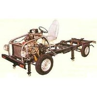 Alat Peraga Otomotif Car Trainer Stand 1