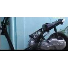 Alat Peraga Trainer Stand Sepeda Motor Matic