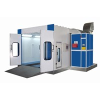 Oven Paint Spray Booth Body Repair Cat Mobil  1