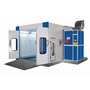 Oven Paint Spray Booth Body Repair Cat Mobil