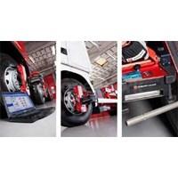Spooring Truck Wheel Aligner