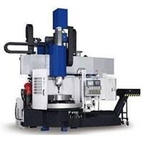 Mesin Bubut CNC Vertical Lathe Machine 1