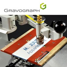 Mesin gravir GRAVOGRAPH engraving machine